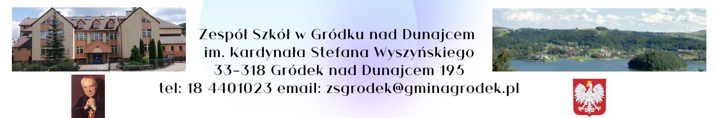 Zespół Szkół im. Kardynała Stefana Wyszyńskiego w Gródku nad Dunajcem